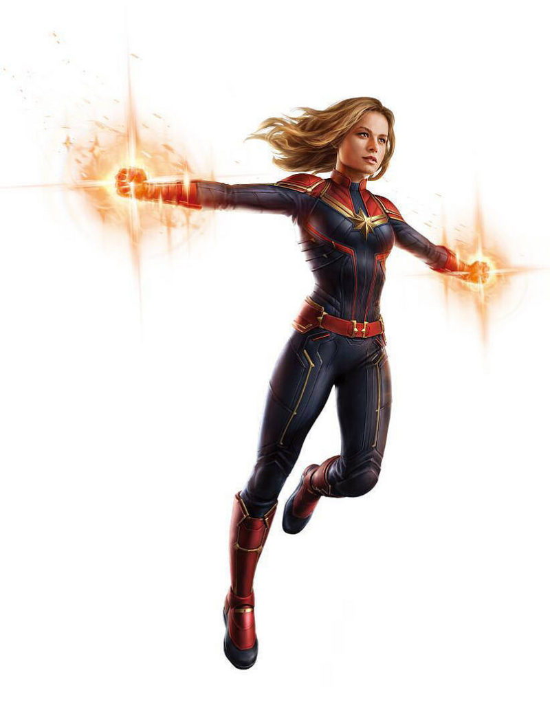 Promo Art Avengers 4 Captain Marvel
