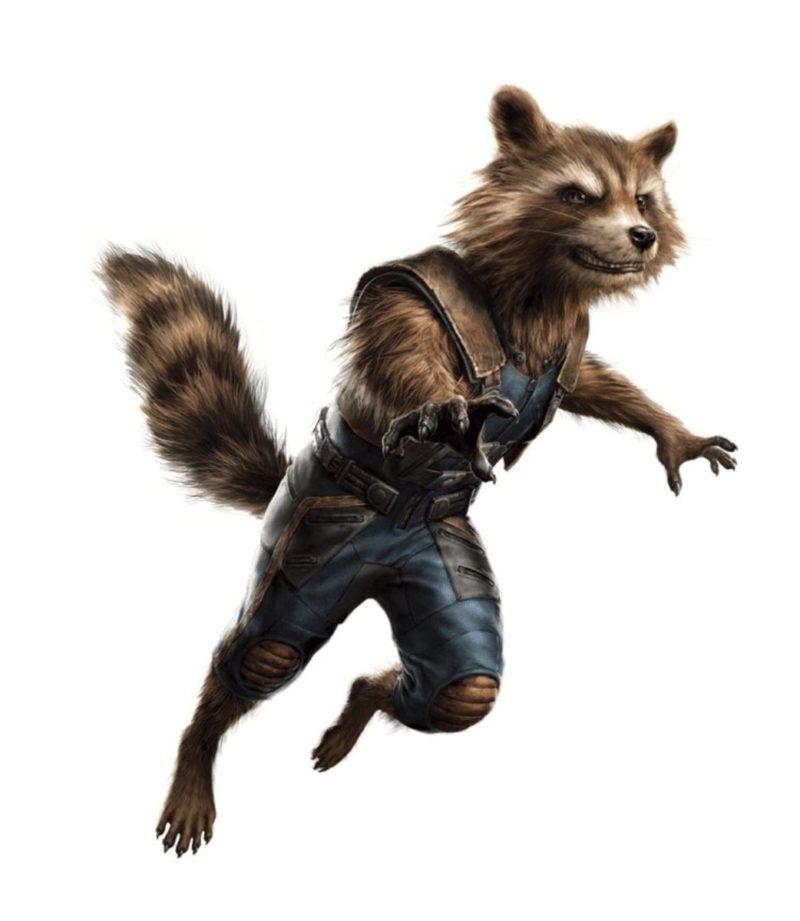 Promo Art Avengers 4 Rocket Raccoon