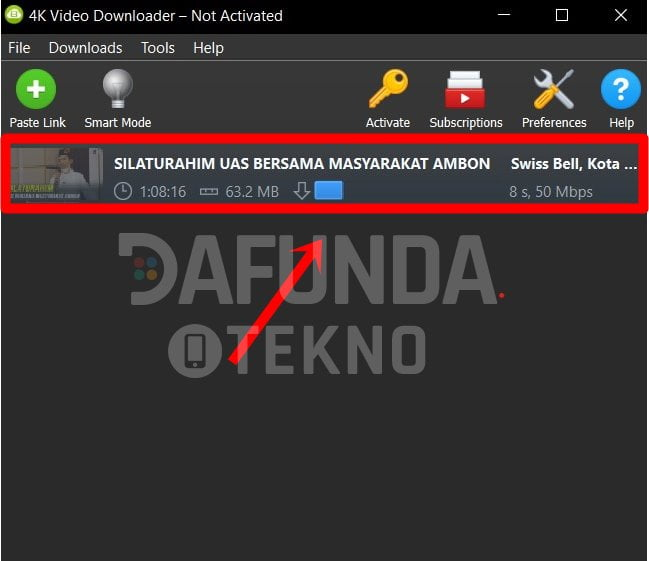 Proses Download Youtube