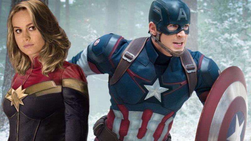 Reaksi Captain America Trailer Captain Marvel