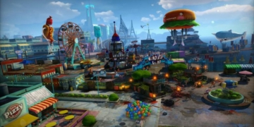 13 34 24 2555795 Sunset Overdrive Wondertown Environment