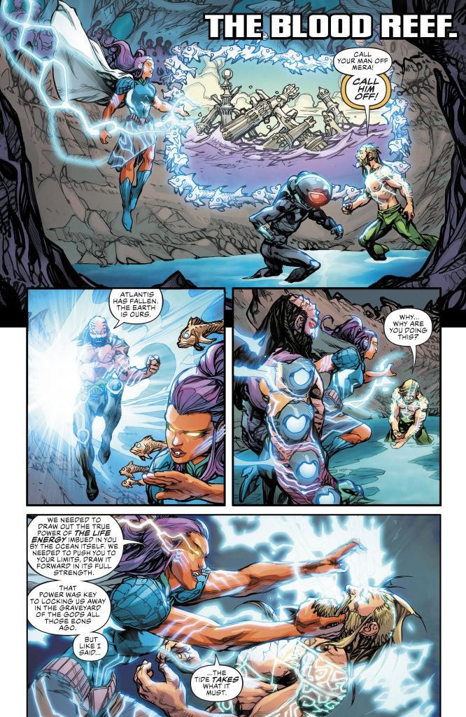 Aquaman Drowned Earth