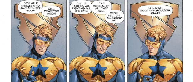 Heroes In Crisis Booster Gold