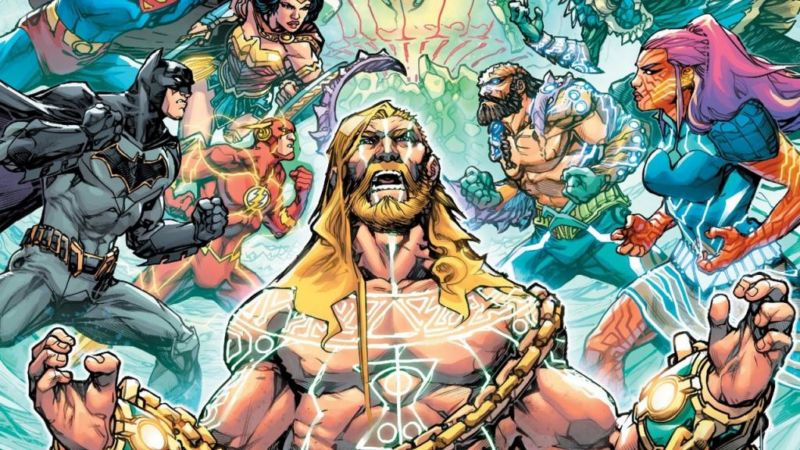 Aquaman Drowned Earth #1