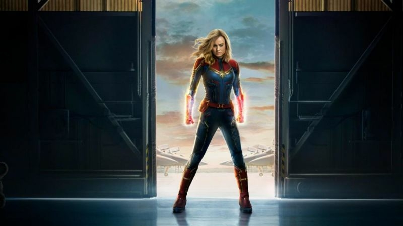 Captain Marvel Trailer Brazil Comic Con