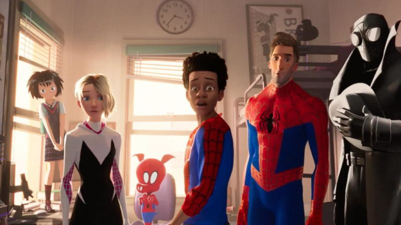 Into The Spider Verse Sekuel Spinoff