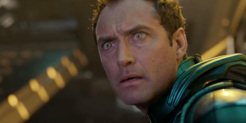 Jude Law Rahasia Captain Marvel Lebih Rapat Dari Fantastic Beasts
