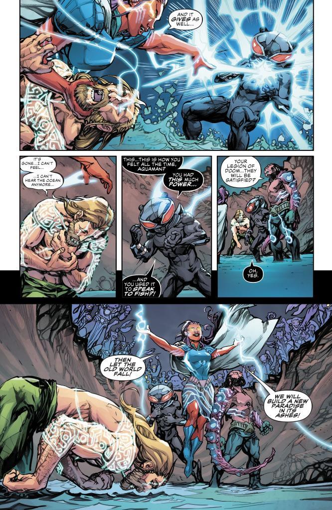 Justice League Aquaman Drowned Earth