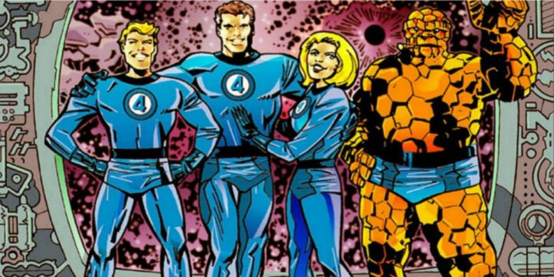 Karakter Ciptaan Stan Lee Fantastic Four