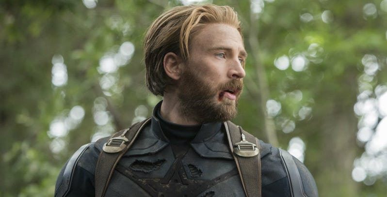 Kostum Awal Captain America Infinity War