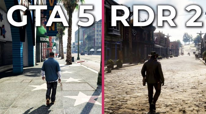GTA5 Vs RDR2