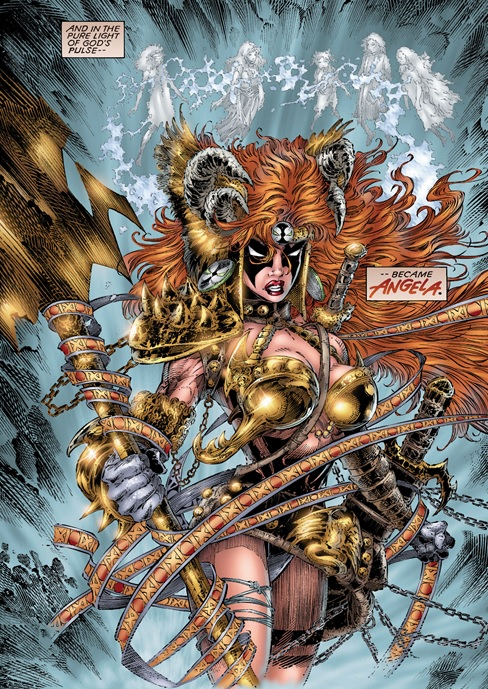 Anggota Guardians Of The Galaxy Angela