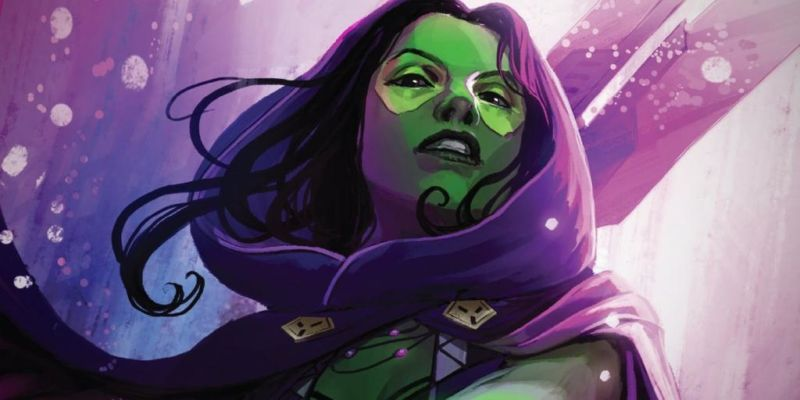 Anggota Guardians Of The Galaxy Gamora