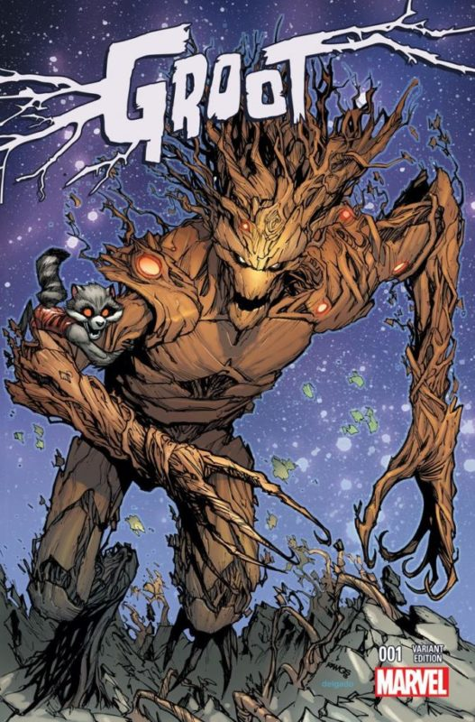 Anggota Guardians Of The Galaxy Groot