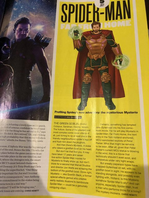 First Look Mysterio Art