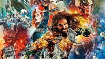 Pendapatan Aquaman Lewati Justice League