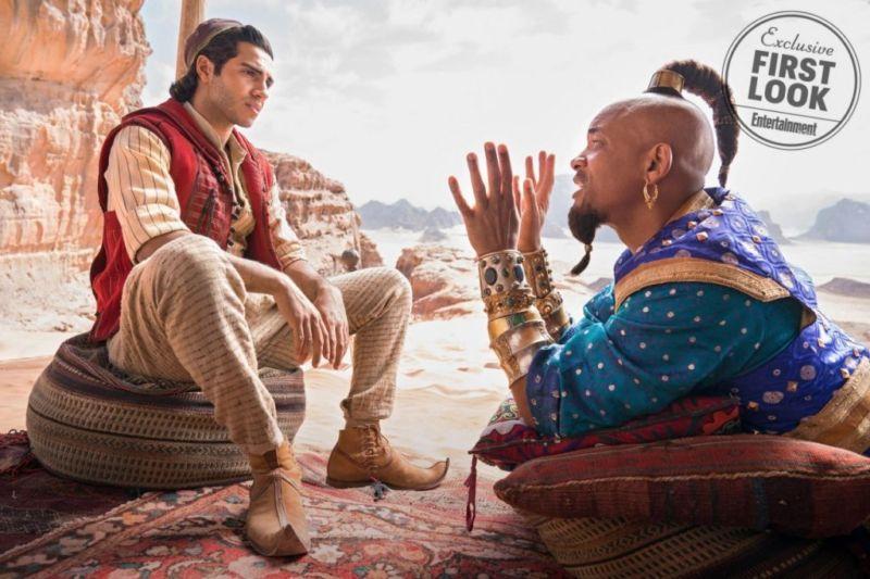 Tampilan Pertama Aladdin Live Action 2