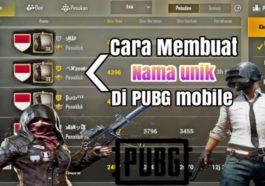 Begini Cara Membuat Nickname Unik Di PUBG Mobile Dengan Mudah! Dafunda Com
