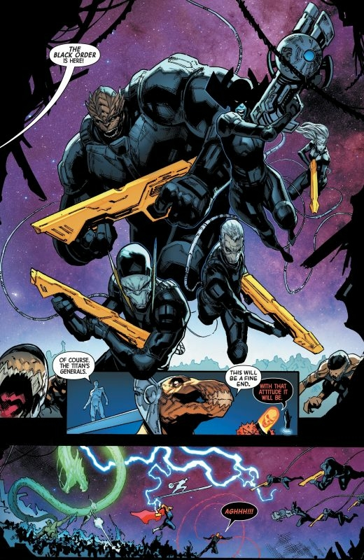 Guardians Of The Galaxy Black Order