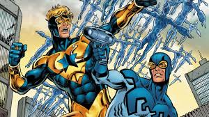 Booster Gold Blue Beetle Cameo