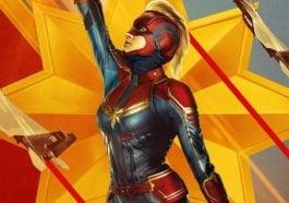 Poster Captain Marvel Baru