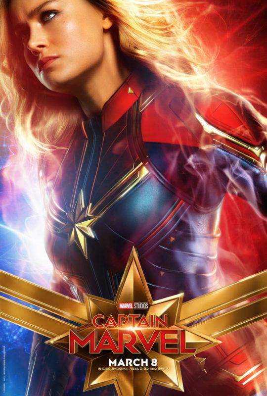 Poster Karakter Utama Captain Marvel