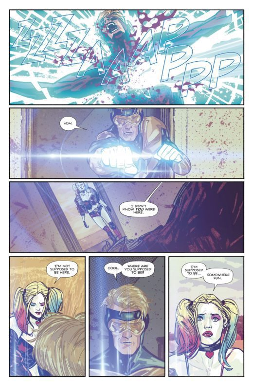 Booster Gold Bunuh Wally West