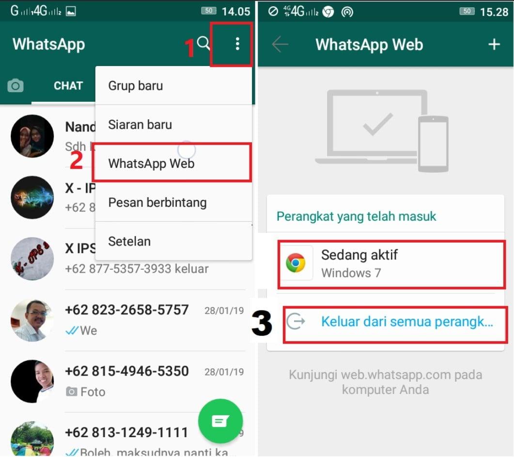 Cara Mencegah Whatsapp Disadap
