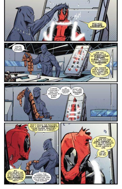 Deadpool Vs Blackpanther pantherpool