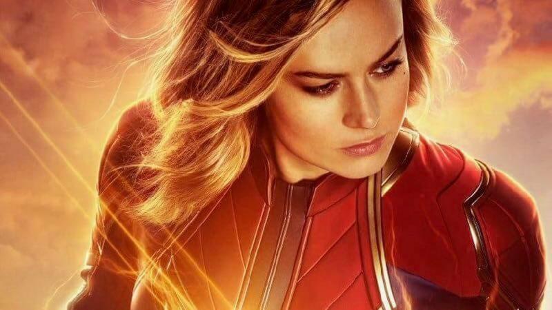 Poster Ekslusif Captain Marvel 1