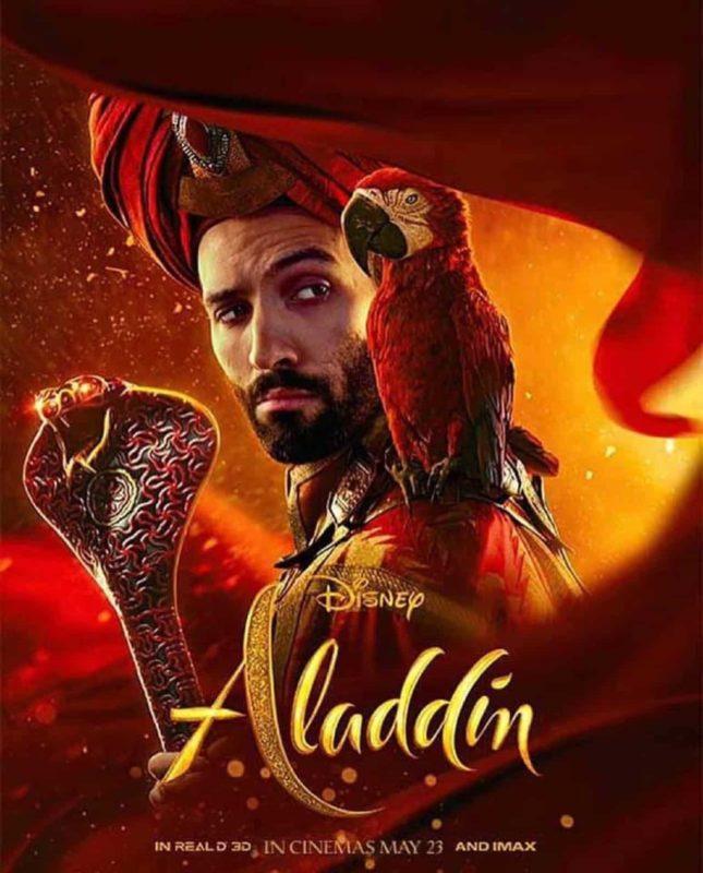 Aladdin Poster Javar