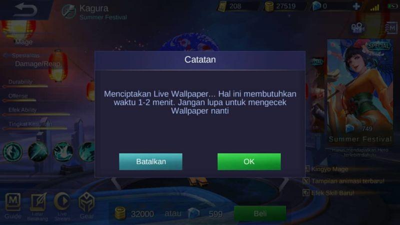 Memasang Live Walpaper Mobile Legends (4)