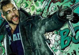 The Suicide Squad 2 Captain Boomerang Jai Courtney.