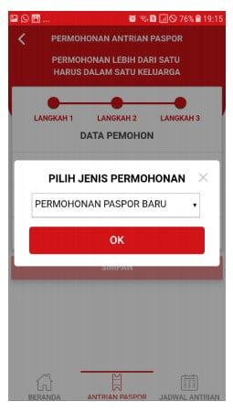 Cara Buat Paspor Baru Lewat Aplikasi (8)