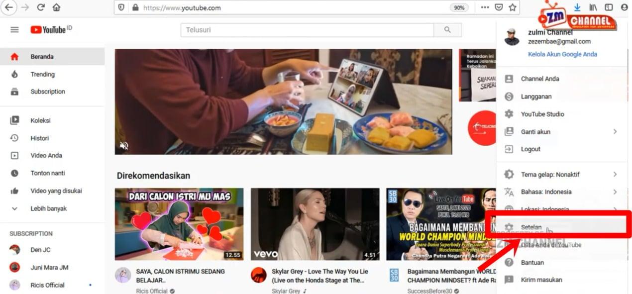Cara Cek Hak Cipta Youtube (2)