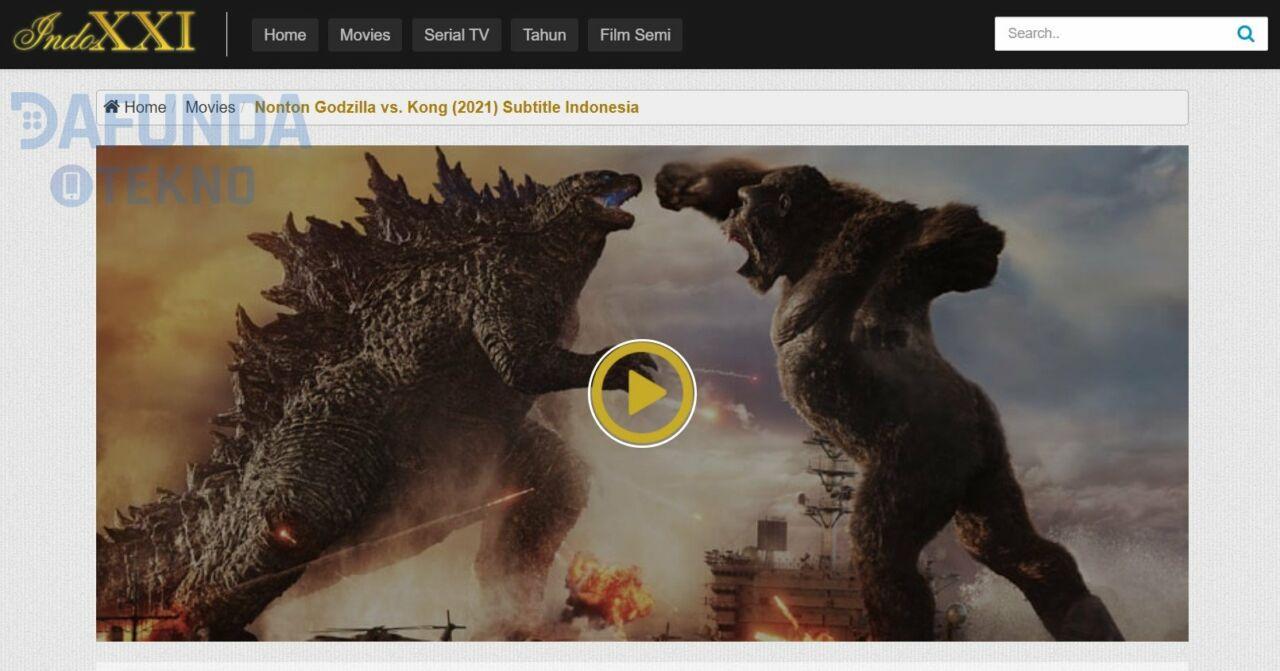 Cara Download Film Godzilla Vs Kong 2021 Sub Indonesia