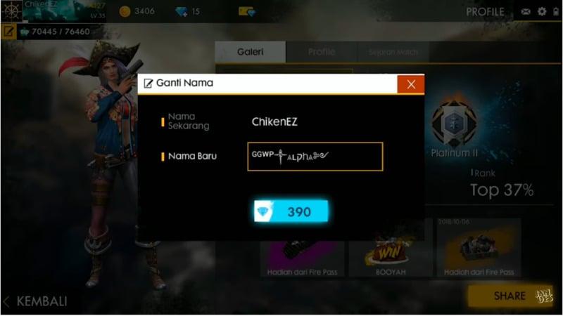 Cara Membuat Nama Nickname Game Unik Tanpa Aplikasi - Dafunda.com