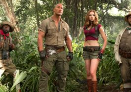 First Look Sekuel Jumanji