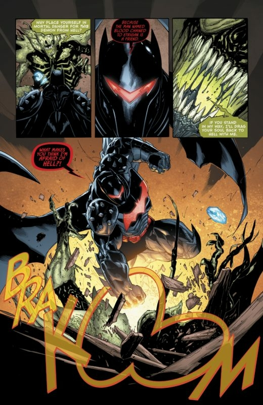 Hellbat Armor Batman