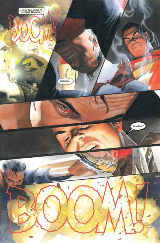 Shazam Vs Superman Dc Comics