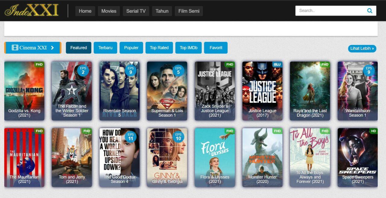 Situs Download Film Indoxxi Terbaru