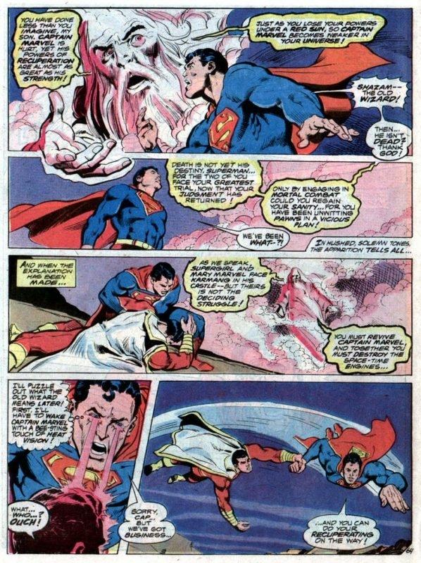 Superman Vs Shazam!