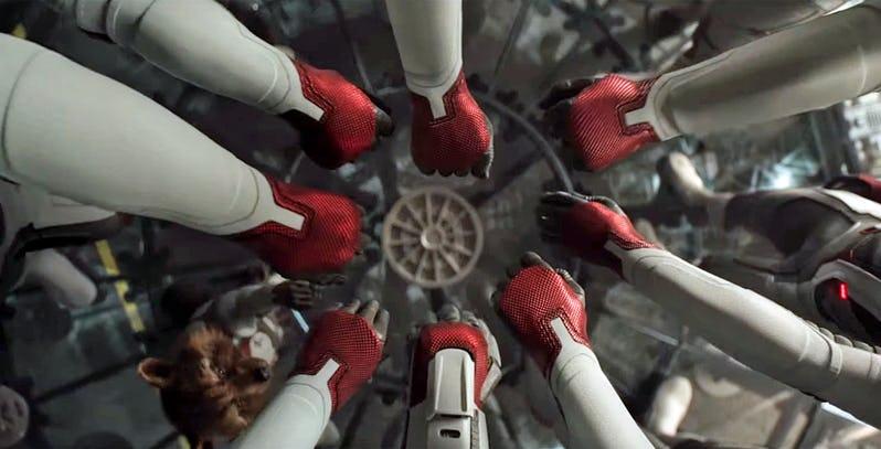 Avengers Endgame Misi