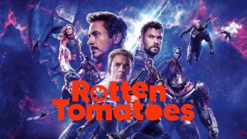 Avengers Endgame Rotten Tomatoes Skor