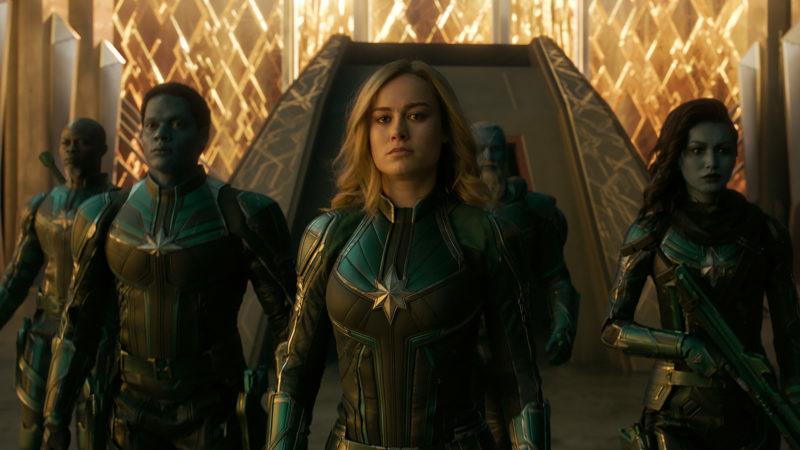 Captain Marvel Mentor
