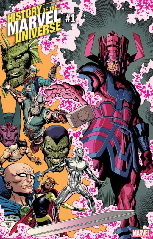 Marvel History Comic