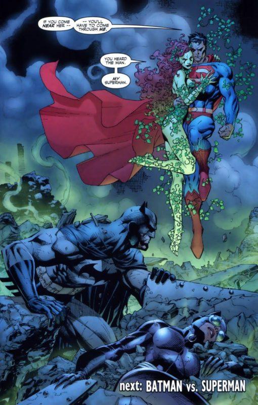 Hush Batman Vs Superman