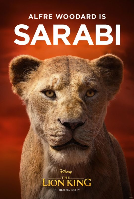 The Lion King (2019) Character Poster CR: Disney