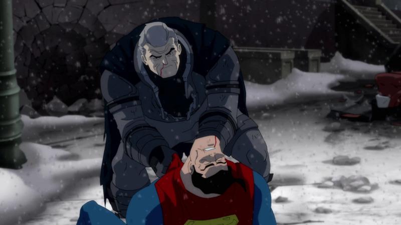 The Dark Knight Returns Animasi Batman Terbaik