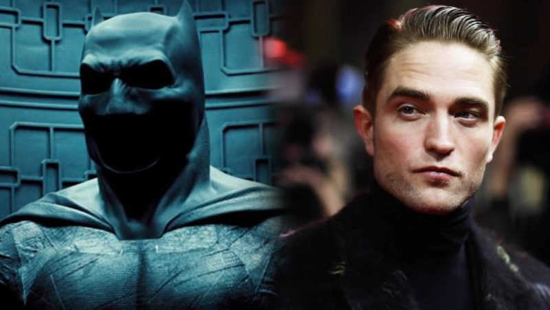 Robert Pattinson Batman Baru
